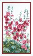 Набор для вышивания крестом Цветы у дома