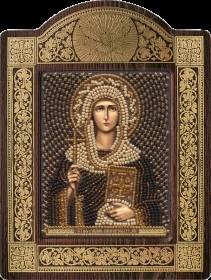 Набор для вышивки бисером Св. Равноап. Нина просвет. Грузии