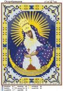 Схема вышивки бисером на атласе Б.М. Остробрамская