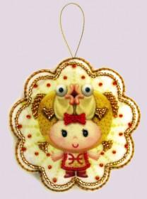 Набор для изготовления игрушки из фетра для вышивки бисером Рыбы, , 48.00грн., F132, Баттерфляй (Butterfly), Сказочные персонажи