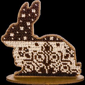 Набор для вышивки бисером по дереву Кролик Волшебная страна FLK-265 - 130.00грн.