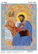 Схема вышивки бисером на атласе Св. Марк