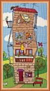Набор для вышивки крестом Летний домик