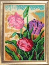 Набор для вышивки бисером Весенние тюльпаны Баттерфляй (Butterfly) 249Б