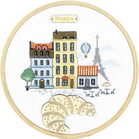 Набор для вышивки крестом Париж Чарiвна мить (Чаривна мить) М-304 - 261.00грн.