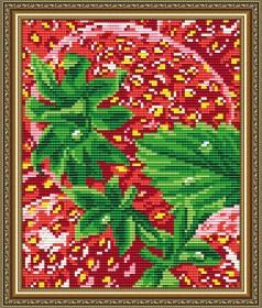 Набор для выкладки алмазной мозаикой Клубника, , 280.00грн., АТ5576, Art Solo, Натюрморты