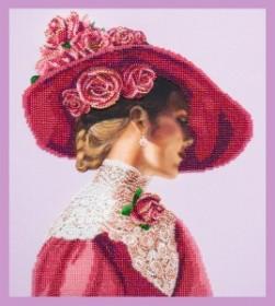 Набор для вышивки бисером Леди