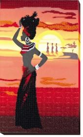 Набор для вышивки бисером Африка 2, , 468.00грн., АВ-467, Абрис Арт, Картины из нескольких частей