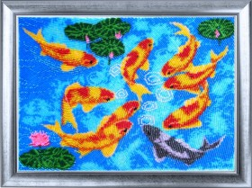 Набор для вышивки бисером Девять карпов Баттерфляй (Butterfly) 610Б - 564.00грн.