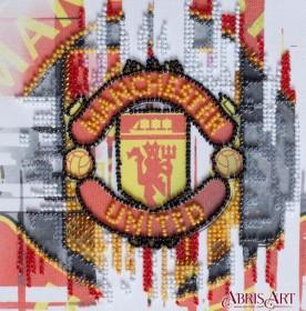 Набор-мини для вышивки бисером на натуральном художественном холсте ФК Манчестер Юнайтед Абрис Арт АМ-207 - 103.00грн.