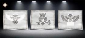 Схема для вышивки бисером на атласе Секрет Триптих Миледи СЛТ-2218 - 297.00грн.