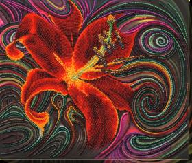 Набор для вышивания бисером Чудесна Лілея