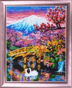 Набор для вышивки бисером Фудзияма Ч.2