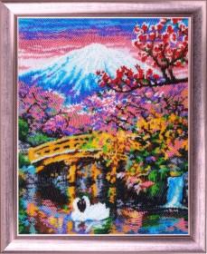 Набор для вышивки бисером Фудзияма Ч.2 Баттерфляй (Butterfly) 386Б - 611.00грн.