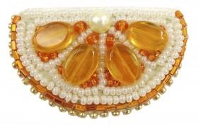 Набір для виготовлення броши Апельсин Cristal Art БП-239 - 95.00грн.