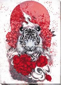 Набор для вышивки бисером Бай-ху (Белый тигр) Абрис Арт АВ-814 - 513.00грн.