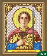 Рисунок на ткани для вышивки бисером Святой Валерий
