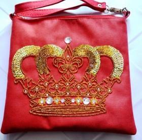 Пошитый клатч для вышивки бисером QUEEN Миледи КС-006 - 550.00грн.