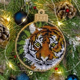 Набор для вышивки бисером по дереву Тигр Волшебная страна FLK-400 - 193.00грн.