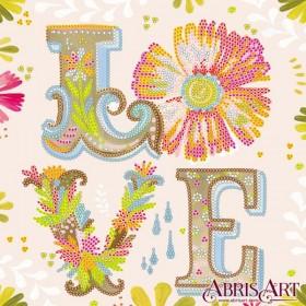 Схема для вышивки бисером Любовь Абрис Арт AC-563 - 53.00грн.