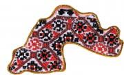 Набор - магнит для вышивки бисером Карта Украины Днепропетровская область