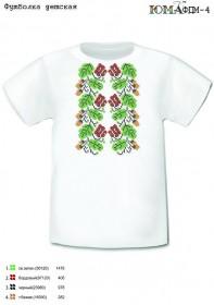 Детская футболка для вышивки бисером РАЗМЕР L