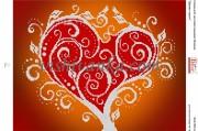Схема для вышивки бисером на атласе Дерево щастя