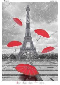 Схема для вышивания бисером на атласе Зонтопад в Париже Юма ЮМА-3339 - 62.00грн.