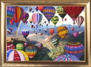 Набор для вышивки бисером Полет воздушных шаров