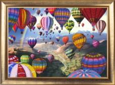 Набор для вышивки бисером Полет воздушных шаров Баттерфляй (Butterfly) 368Б