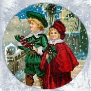 Набор для вышивки ювелирным бисером Рождественские истории 7