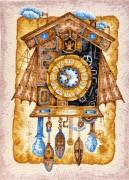 Набор вышивки крестом Часы с кукушкой