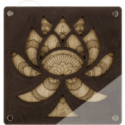Органайзер для бисера с крышкой