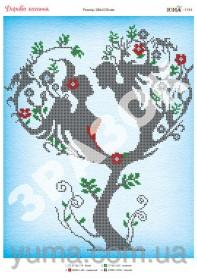 Схема вышивки бисером на атласе Дерево Любви Юма ЮМА-3194 - 62.00грн.