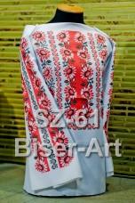 Заготовка для вышивки бисером Сорочка женская Biser-Art Сорочка жіноча SZ-61 (габардин)