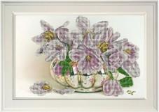Набор для вышивания бисером Цветы 16 Краса и творчiсть 11017