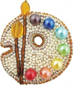 Набор для изготовления броши Палитра Cristal Art БП-223 - 86.00грн.