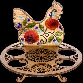 Набор для вышивки бисером по дереву Курочка Волшебная страна FLK-260 - 216.00грн.