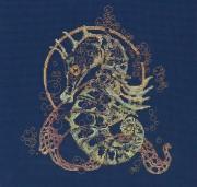 Набор для вышивки крестом Морской конек