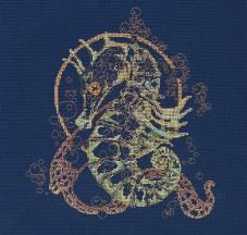 Набор для вышивки крестом Морской конек Абрис Арт АН-071