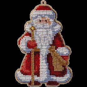 Набор для вышивания по дереву Дед Мороз