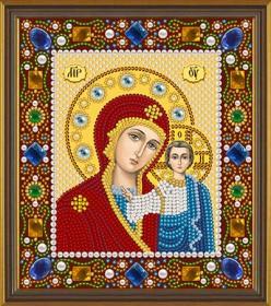 Набор для вышивки бисером Богородица Казанская Новая Слобода (Нова слобода) Д6025 - 220.00грн.