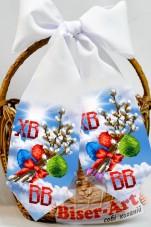 Пасхальнаый бант для вышивки бисером  Biser-Art В24016