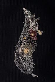 Набор для вышивки крестом Перо 2 Абрис Арт АН-078 - 193.00грн.