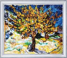 Набор для вышивки бисером Тутовое дерево (по мотивам Ван Гога) Баттерфляй (Butterfly) 753Б