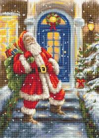 Набор для вышивки крестом Дед Мороз Luca-S B563 - 455.00грн.