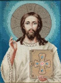 Набор для вышивки крестом Иисус Христос Luca-S BR117 - 472.00грн.