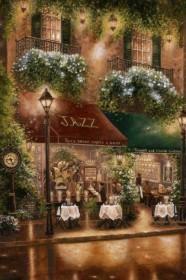 Набор для выкладки алмазной мозаикой Ночное кафе Алмазная мозаика DM-076 - 760.00грн.