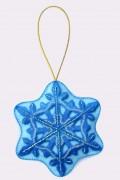 Набор для изготовления куклы из фетра для вышивки бисером Снежинка