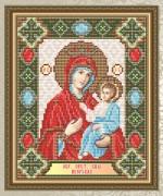 Набор для выкладки алмазной мозаикой Богородица Иверская
